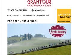 Granfondo Strade Bianche 5 – 6 Marzo 2016
