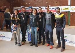 Winter Triathlon di Campodolcino, medaglie d'argento per Granbike!
