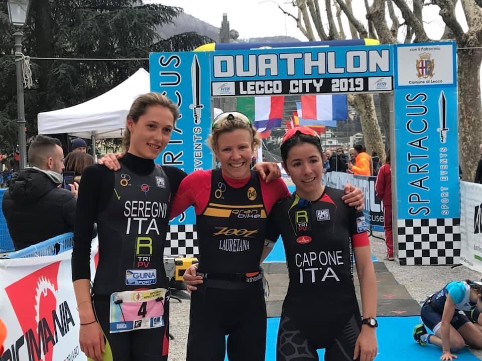 Granbike conquista il Duathlon Sprint Città di Lecco