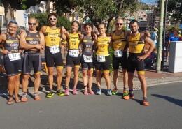 Ritorno alla gare spumeggiante per i Granbikers ai Campionati Italiani di Acquathlon di Recco
