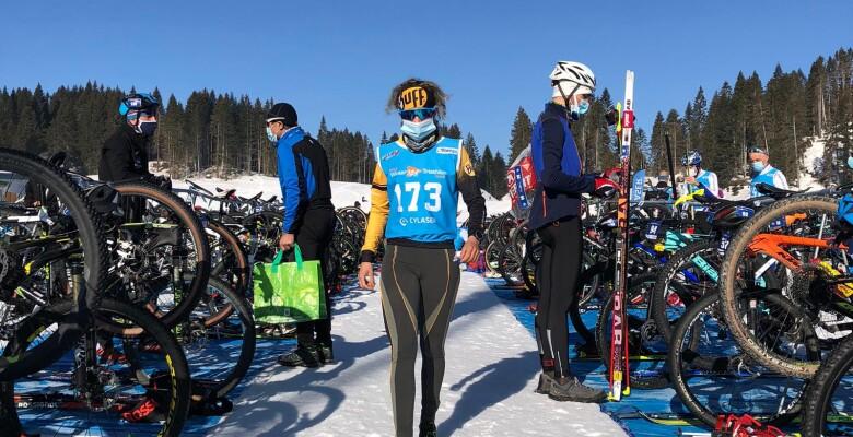 La bianca neve del Winter Triathlon Fest si tinge dei colori granbike
