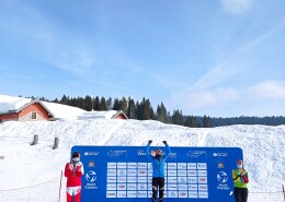 Sandra Mairhofer conquista Asiago nella Winter Triathlon World Cup