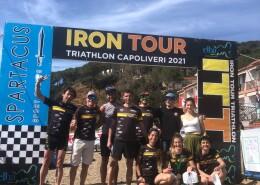 Subito Granbiketeam alla 1° Tappa dell'Iron Tour all'Isola d'Elba