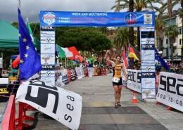 Sandra Mairhofer Tricolore a Sestri Levante